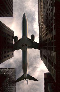 It's a plane.