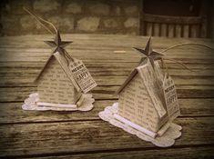 Décorations de Noel : les petites maisons www.latribudeselfes.canalblog.com