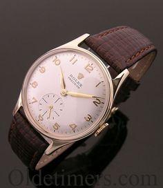 A 9ct gold vintage Rolex Precision watch, 1959 für Sie hier vom Gentlemansclub gepinnt . . . - schauen Sie auch mal im Club vorbei - www.thegentlemanclub.de