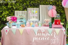 "Fiesta infantil de verano ""summer picnic party"""