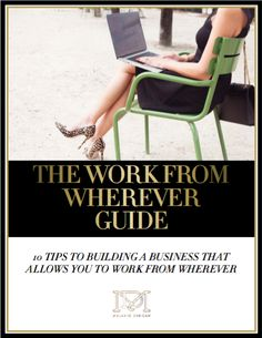 The work from wherever guide by Melanie Duncan
