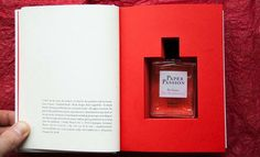 Book-Scented Perfume. Awesome!!  Lol.