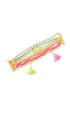 The Bohemian Tassel Bracelet is the perfect warm weather bracelet. It's a multi-strand bracelet with a magnetic closure that has beads, braids, tassels, and more. Mixed Media, Multi Strand Bracelet With Magnetic Closure. Measures 7 L. Bohemian Style Jewelry, Boho Chic, Tassel Bracelet, Strand Bracelet, Resort Wear For Women, Braided Bracelets, Jewelry Bracelets, Jewellery, Best Gifts For Her