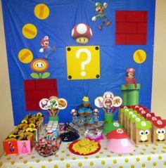 Karen's Krafty Moments: Mario themed Party Update