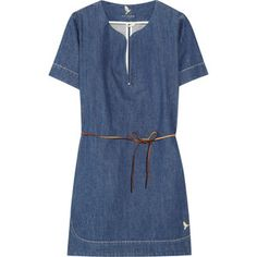 MiH Belted Denim Tunic from Outnet