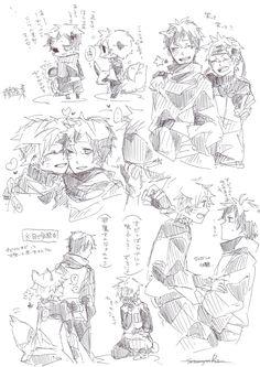 Comic Naruto, Sasuke X Naruto, Anime Naruto, Naruto Shippuden, Boruto, Narusasu, Sasunaru, Team 7, Character Art