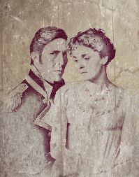 Image of Captain Wentworth and Anne Elliot (Persuasion created by BeFunky Stenciler Ciaran Hinds, Jane Austen Novels, Pride And Prejudice, Music Tv, Period Dramas, Painting & Drawing, Fairy Tales, Bedroom Ideas, Literature