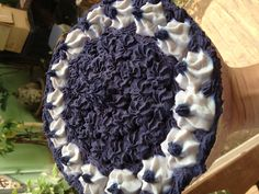 Top of Ube cake per slice Ube, Soap, Desserts, Tailgate Desserts, Deserts, Dessert, Postres, Plated Desserts, Soaps