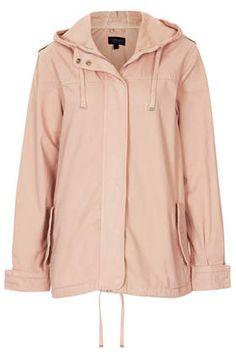 Lightweight Short Parka Jacket