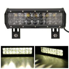 9 pulgadas de 90W inundaciones bombilla LED Work Light Bar para camioneta Jeep off road 4x4