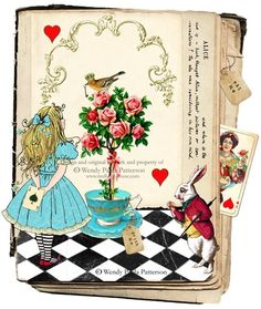 Lovely altered book