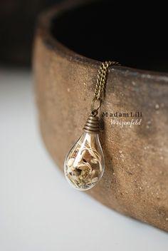 """The wheat field"" A piece of nature Necklace  from MadamLili® Pure Soulfulness! :) by DaWanda.com"