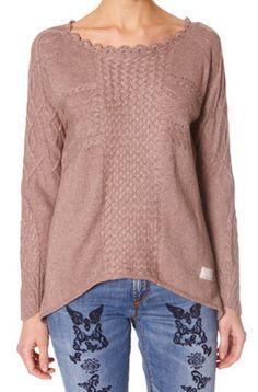 #863 Envy This jumper in brown