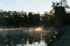 Fogrise at Magnolia Springs State Park by Jerm Cohen on 500px