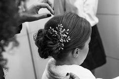 Tulle - Acessórios para noivas e festa. Arranjos, Casquetes, Tiara | ♥ Luíza Schneider