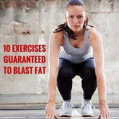 10 No Equipment Exercises Guaranteed To Blast Fat Fast