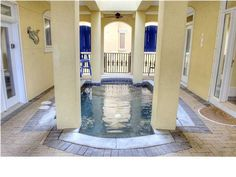 Amazing indoor pool in this million dollar home at 4915 Hwy W, Santa Rosa Beach, FL 32459 Million Dollar Homes, Santa Rosa Beach, Commercial Real Estate, Luxury Real Estate, Florida, Indoor, Mansions, House Styles, Amazing