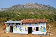 A remote village hut in Bengal