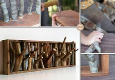 Do you need a coat rack?   This project will show you how to build one using fallen branches. It's inexpensive, easy, space-saving, and can serve as a shelf too!  http://theownerbuildernetwork.co/x5dt