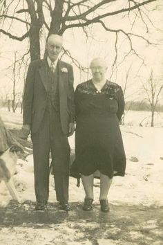 March 4, 1948 Frank and Mary Ketchum 40th Wedding Anniversary.
