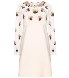 Valentino Embellished cream silk dress --- 2250€ (instead of 4500€) /// mytheresa.com