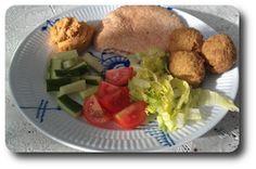 Pitabrød med Falafel, Hummus og Grønt ~ Spis Med