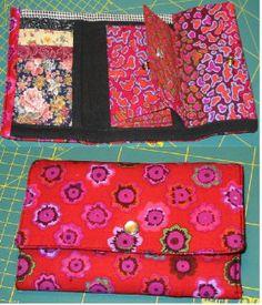 nylon wallet pattern
