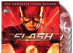 The Flash The Complete Third Season 3 (DVD 2017 6-Disc) New - Free Shipping