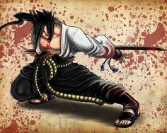 Uchiha Sasuke - Anime