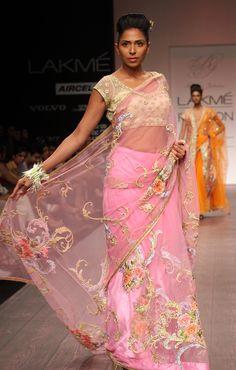 Bhairavi Jaikishans Vintage Flower Collection {Lakme Fashion Week 2013}