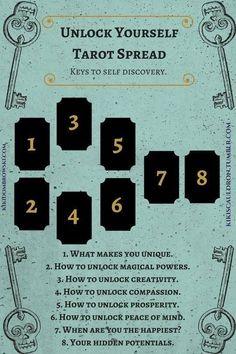 Self Discovery #learningtarotcards