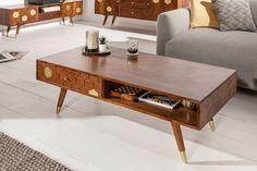 Luxusný konferenčný stolík z masívu.
