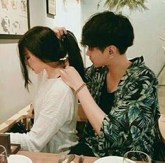 korean couple ulzzang kiss on the forehead Mode Ulzzang, Korean Ulzzang, Ulzzang Girl, Ulzzang Fashion, Cute Relationship Goals, Cute Relationships, Cute Korean, Korean Girl, Couple Ulzzang