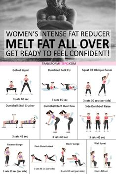 Get rid of that stubborn fat with this intense fat reducer exercise routine. Get ready to feel confident and turn heads. Do this workout daily for best results. And don't forget to repi Fitness Workouts, Fitness Goals, Full Body Weight Workout, Cardio Exercises At Home, Obesity Workout, Beginner Full Body Workout, Hard Ab Workouts, Exercise Workouts, Daily Exercise Routines