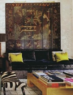 Architectural Digest, January 2011, design by Windsor Smith,  photography Erhard Pfeiffer