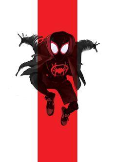Miles Morales - Ultimate Spider-Man, Into the Spider-Verse Marvel Comic Universe, Marvel Art, Marvel Heroes, Marvel Avengers, Black Spiderman, Spiderman Spider, Amazing Spiderman, Miles Morales Spiderman, Marvel Drawings