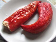 Запеченный перец с фетой