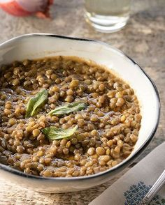 Ikaria Longevity Lentil Soup with Sage and Chile Peppers | Greek Food - Greek Cooking - Greek Recipes by Diane Kochilas | Bloglovin'