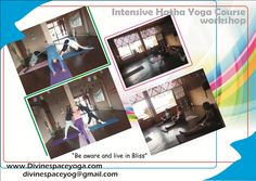 """#Divine_Space_Yoga  #12_days_Hatha_Yoga_Workshop finished.. Do not Think about language when you just came to #gain #knowledge of #Yoga. In Our workshop we do not use language to speak. we #brief the knowledge Because Yoga is for everyone. This workshop for us is very memorable because we just talked with #heart to heart... """"Budda Bless"""" to all our #seekers.. """"Be aware and live in bliss"""" Mail us-divinespaceyog@gmail.com"""