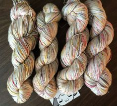 """Moon Pie Merino 75/25 Hand-Dyed Speckled Sock Yarn -463yds """"Birds of a Feather"""""""