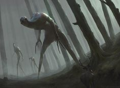 Forest Walkers – horror concept by Jesse Keisala