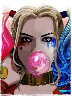 Suicide Squad tribute poster by The Dark Inker | Lost My Puddin' (♦Harley Quinn♦) Suicide Squad