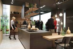 "#Kitchen Opera in ""Industrial Style"" version at #Eurocucina #Isaloni 2016"