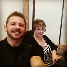 The Beautiful Tracie Carley and I training on her website!  #technologyiseasy #websitesdontcostthatmuch  www.SparkMySite.com