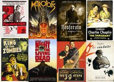 Watch Films for Free That Are Now in the Public Domain Film Script, Free Films, Martin Scorsese, Charlie Chaplin, Old Movies, Public Domain, Documentaries, Netflix, Horror