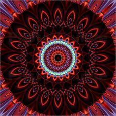 Poster Mandala Kraft 2 - © Christine Bässler - Bildnr. 326953