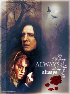 Severus and Hermione T2 by SeverusSnapesAngel.deviantart.com on @DeviantArt