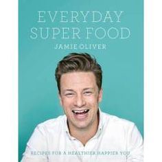 Everyday Super Food book by Jamie Oliver. Really getting in to my cooking since I've been married and love making healthy meals