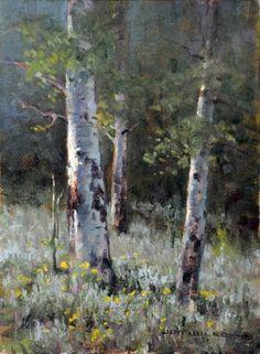 "Artist: Jim Wilcox American Painter.""LANDSCAPES"""