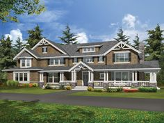 Luxury bungalow plan